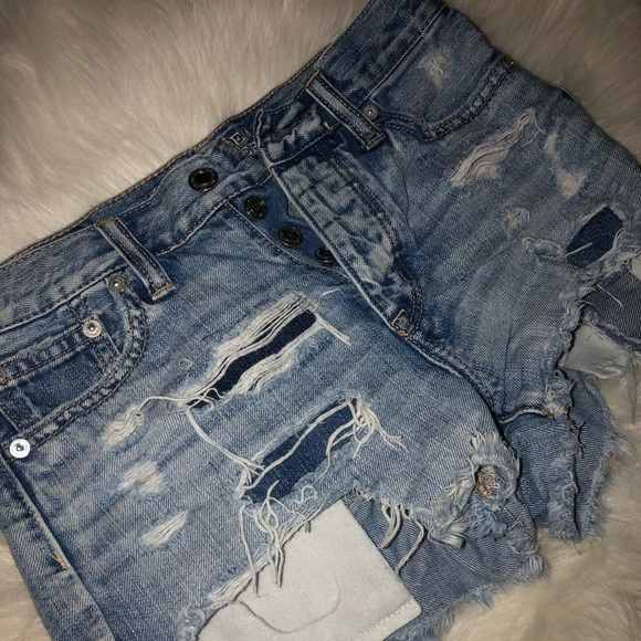 American Eagle Outfitters Pants - Distressed American Eagle denim shorts